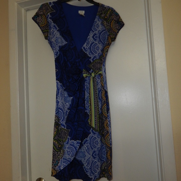 Cache Dresses & Skirts - Cache Size S Faux Wrap Dress Pre-Owned